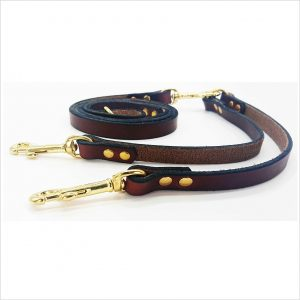 Signature Leather Twin Coupling Leads