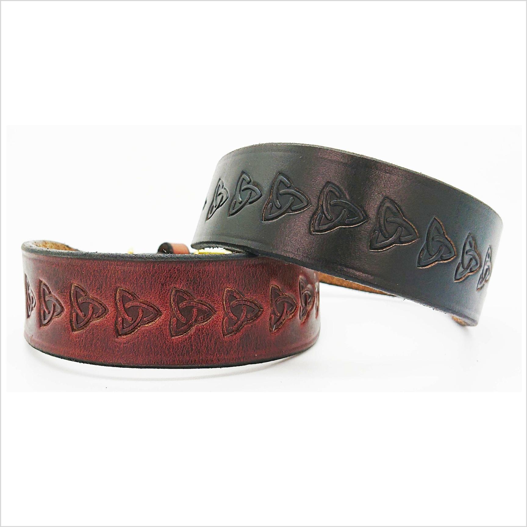 Signature Leather Terrier Collars