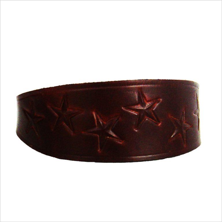 Signature Leather Hound Collars – Random Stars
