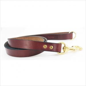 Signature Leather Dog Leads 48″ / 122 cm