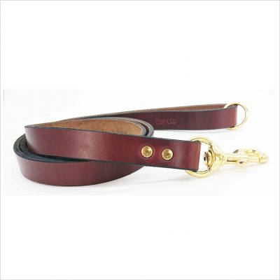 Signature Leather Dog Leads 34″ / 86 cm