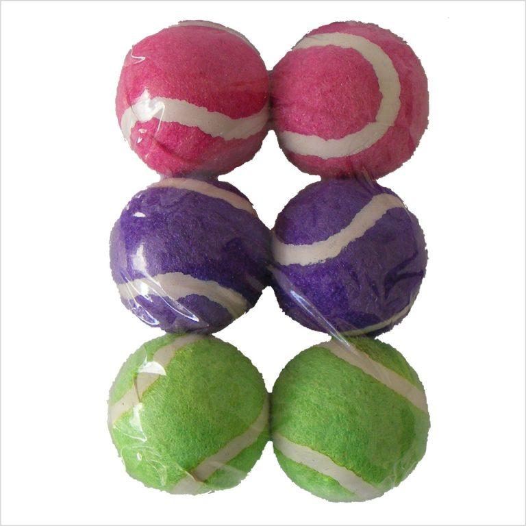 Mini Tennis Balls Dog Toys