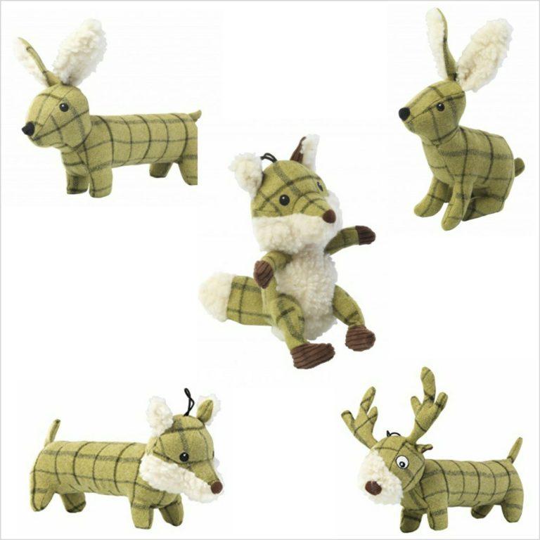 Tweed Dog Toys