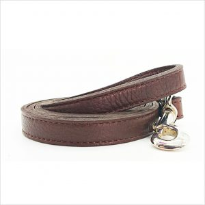 LUXE Leather Dog Leads – Chocolate Brown