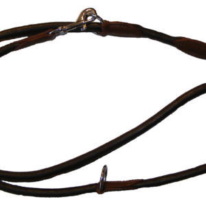 Rolled Leather Police Training Dog Leads