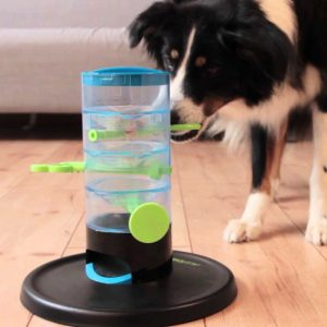 Tricky Tower Interactive Dog Treat Puzzle