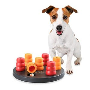 Mini Barrels Interactive Dog Treat Puzzle