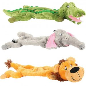 Long Body Wild Critters Dog Toys