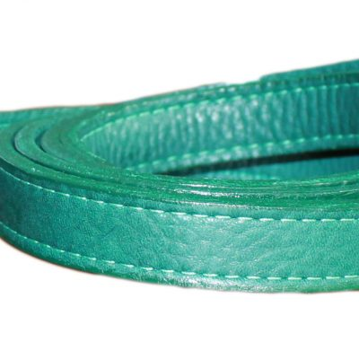 LUXE Leather Dog Leads – Forest Green