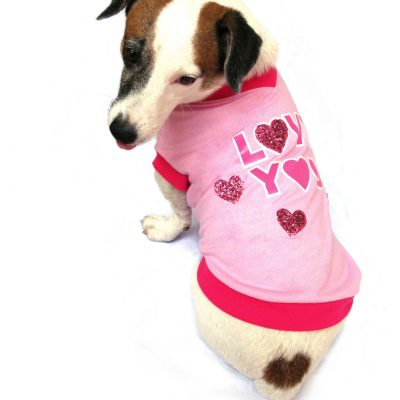 Love You Dog T-Shirts