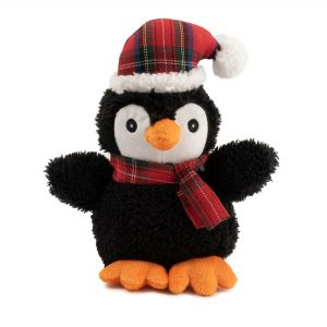 Christmas Small Penguin Dog Toy. 10″ / 25 cm
