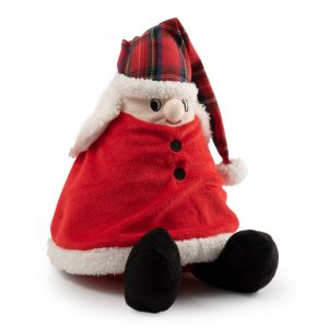 Christmas Nordic Mrs Claus Dog Toy. 14″ / 35 cm
