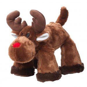 Christmas Big Paws Reindeer Dog Toy