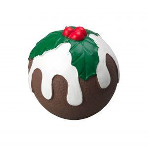Christmas Pudding Latex Small Dog Toy