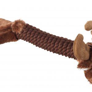 Christmas Rope Reindeer Dog Toy