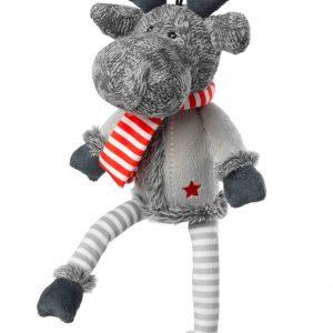 Christmas Silent Reindeer Dog Toy