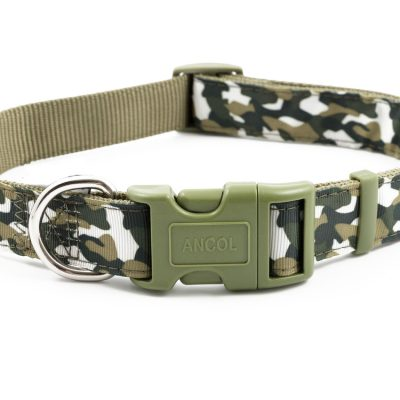 Camouflage Adjustable Nylon Collars