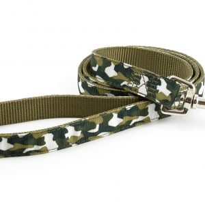 Camouflage Nylon Lead