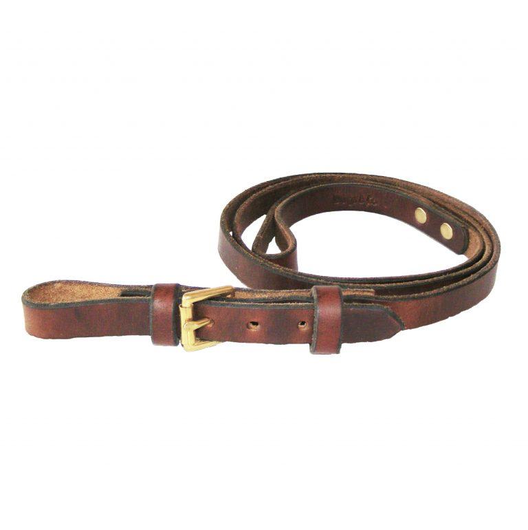 Signature Leather Saluki Dog Lead 48″ / 122 cm