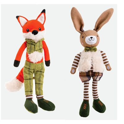 Christmas Suited Dog Toys
