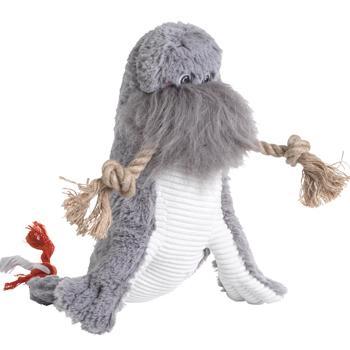 Wally the Walrus Dog Toy
