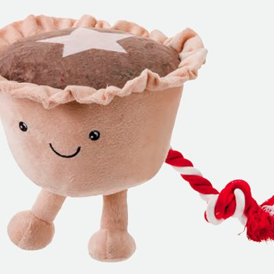Christmas Party Mince Pie Toy
